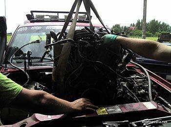 Demontaż silnika SOHC