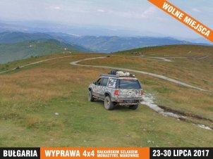 Explopedia - Bułgaria wyprawa 4x4