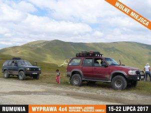 Explopedia - Wakacje Rumunia - Wyprawa 4x4