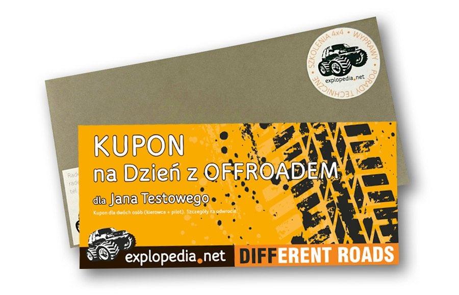 Explopedia - Kupon na dzień z offroadem