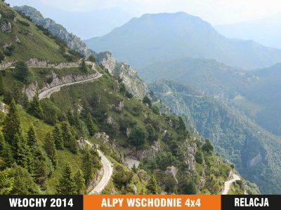 Explopedia - Alpy wschodnie 2016 - wyprawa 4x4