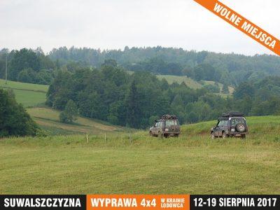 Explopedia - Wakacje Suwalszczyzna - wyprawa 4x4