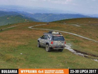 wyprawa Bułgaria 4x4