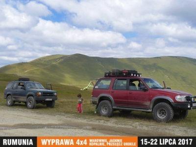 wyprawa Rumunia 4x4