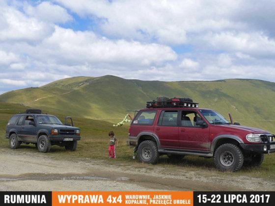 Rumunia - warownie, jaskinie, kopalnie, przełęcz Urdele