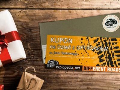 Explopedia - Dzień z Offroadem - kupon