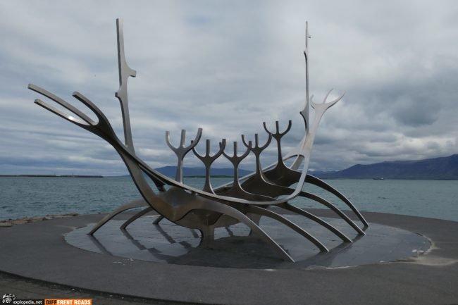 Reykjavik - Łódź Wikingów - Solfar (Sun Voyager)