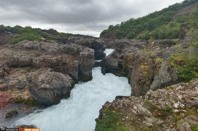Wodospad Barnafoss