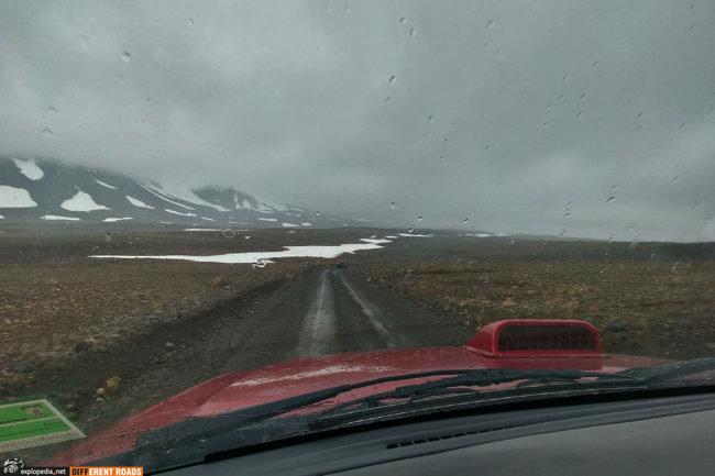 Droga F550 czyli dolina zimna