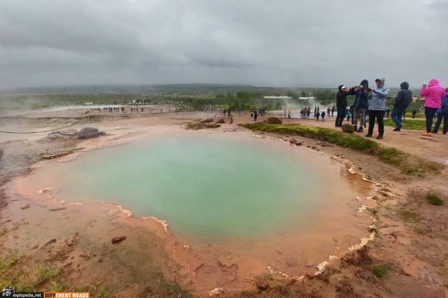 Pole geotermalne Geysir