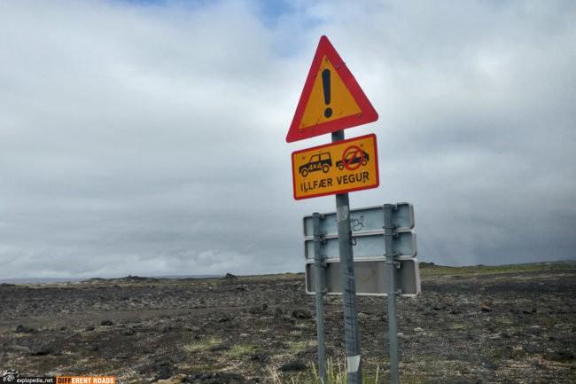 Droga dopuszczona tylko dla samochodów 4x4