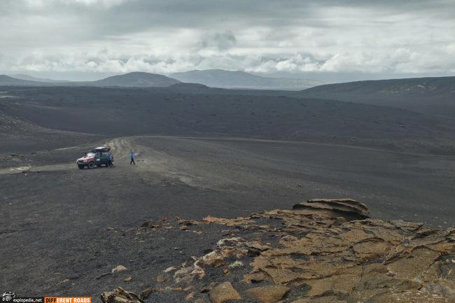 Okolice wulkanu Hekla