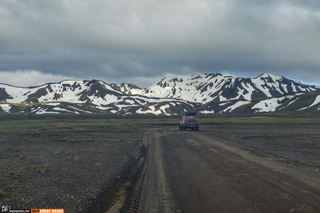 W drodze do Landmannalaugar
