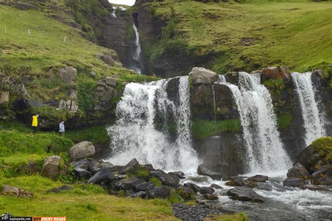 Wodospad Gluggafoss