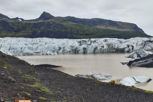 Lodowiec Svínafellsjökull