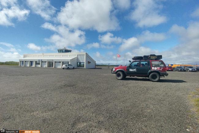 Lotnisko w Nuuk czyli tak naprawdę w Hofn