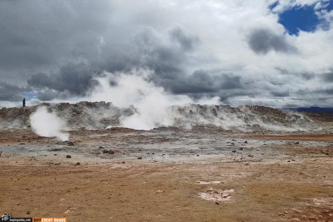 Hverarönd - część aktywnego systemu wulkanicznego Krafla