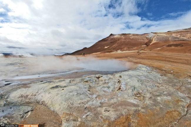 Hverarönd - pole gorących źródeł