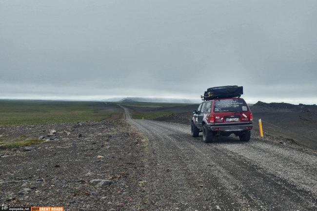 W kierunku przylądka Rauðinúpur