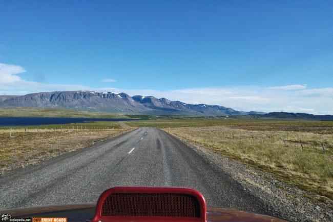 Droga 85 w kierunku Vopnafjörður