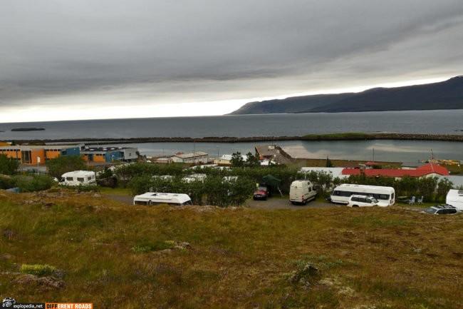 Miejski kemping w Vopnafjörður