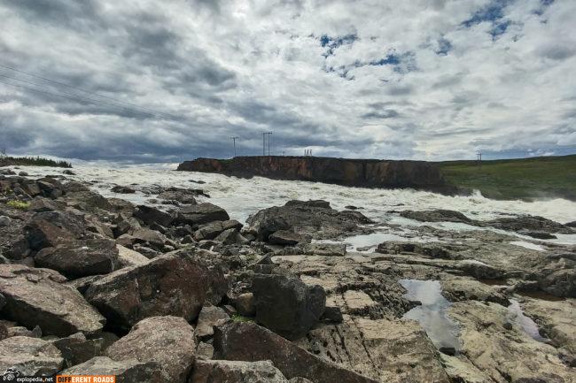 Stopień wodny elektrowni Lagarfossvirkjun