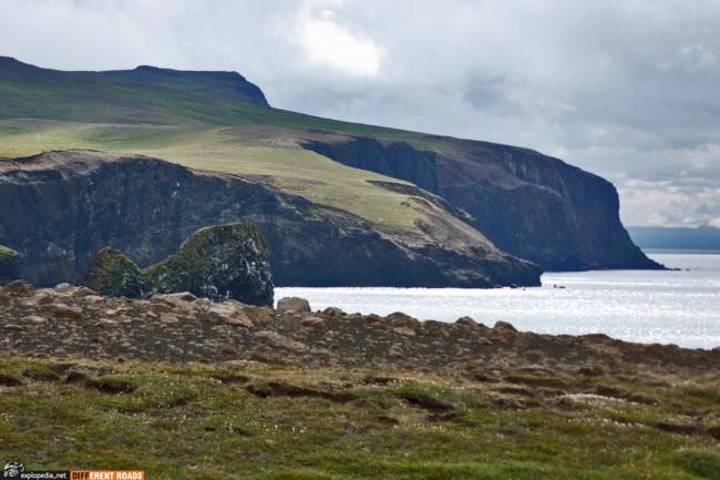 Północne krańce Islandii przy drodze 870