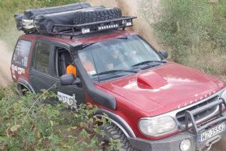 Szkolenie 4x4 z Karoliną - podjazd i grząski piasek